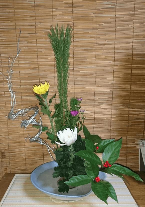 20180101正月花
